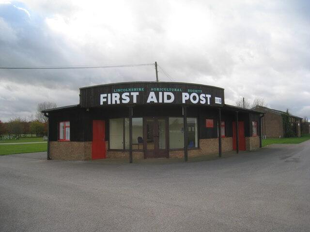 Frist Aid Station