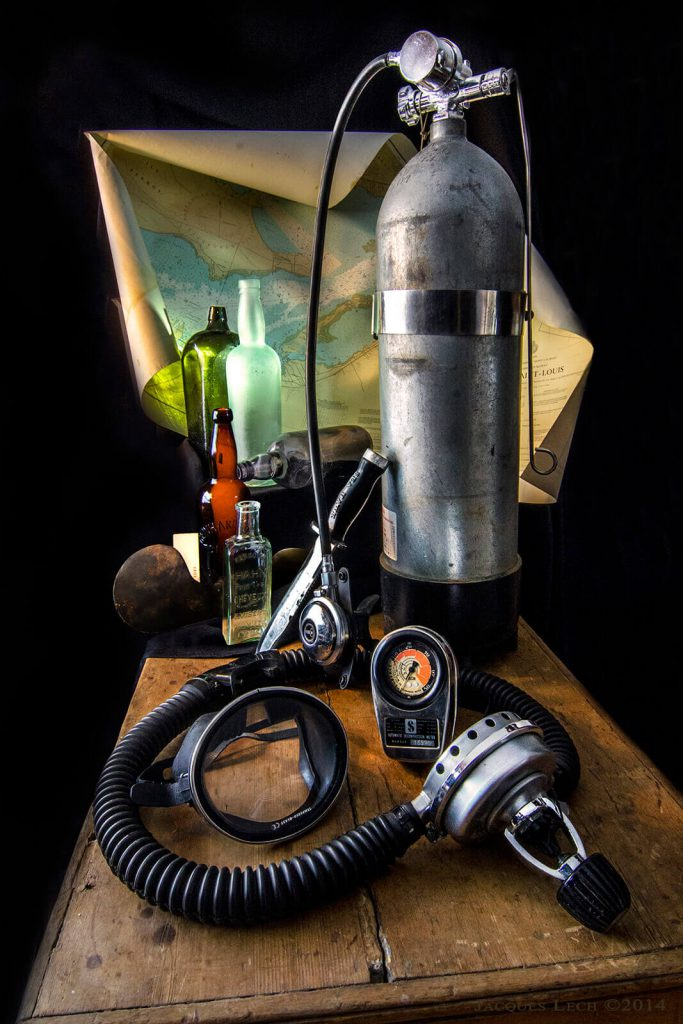 Old Scuba Diving Gear