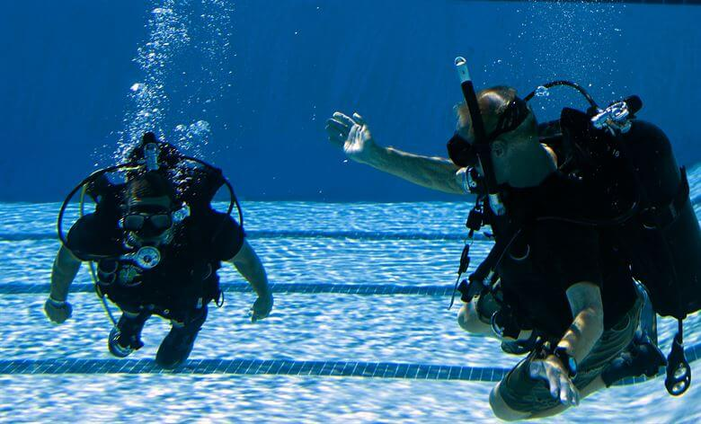 Scuba Pool Training